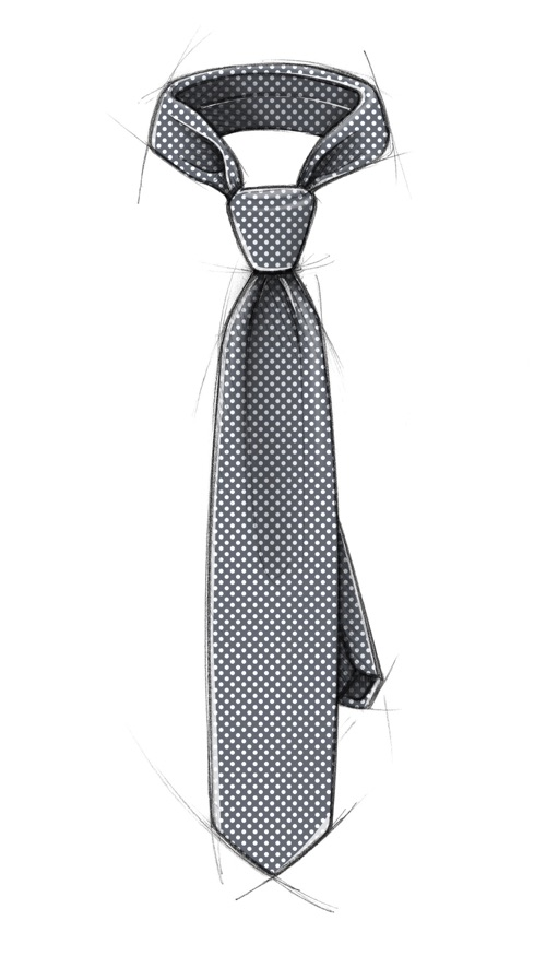 cravatta_pois
